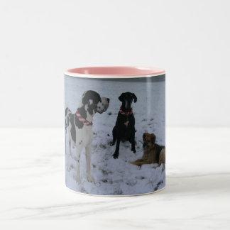 German Dogge, great dane, Hunde, Weihnachten Coffee Mug