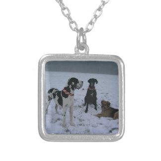 German Dogge, great dane, Hunde, Weihnachten Jewelry