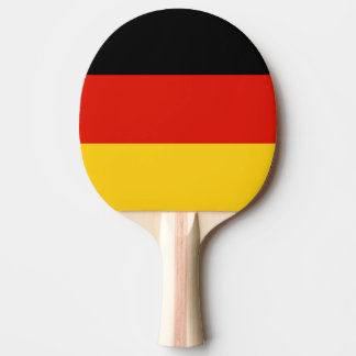 German flag ping pong paddle for table tennis