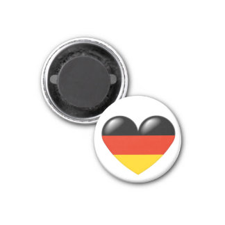 German heart magnet - Deutsche Herz