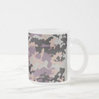 German NATO Camo Frosted Coffee Mug