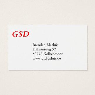 German Shepherd cards