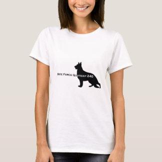 German Shepherd Dog - Bite Force Quotient 240 T-Shirt