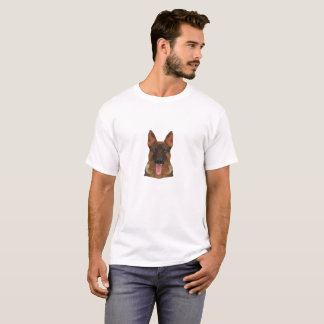 German Shepherd Face T-Shirt