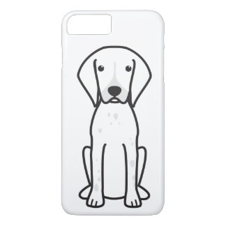 German Shorthaired Pointer Dog Cartoon iPhone 8 Plus/7 Plus Case