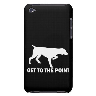 """German Shorthaired Pointer """"Get to the Point"""" Barely There iPod Case"""