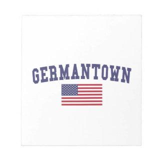 Germantown US Flag Notepad