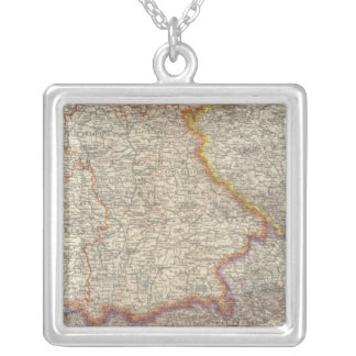 Germany and Austria 2 Silver Plated Necklace