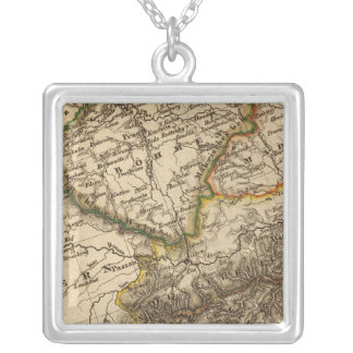 Germany and Austria 3 Silver Plated Necklace