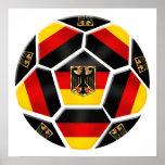 Germany Ball 2014 Brazil soccer sports fan German Poster
