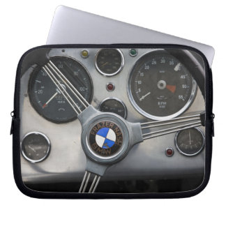 Germany, Bayern-Bavaria, Munich. BMW Welt Car Laptop Sleeve