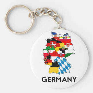 germany country political flag map region province key ring