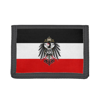 Germany Eagle Vintage Tri-fold Wallet