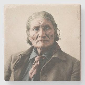 Geronimo 1898 stone coaster