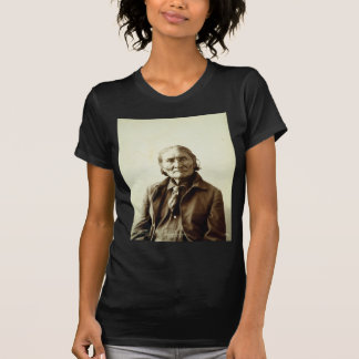 Geronimo Guiyatle Apache Native American Indian Tees