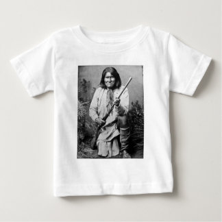 Geronimo with Rifle 1886 Baby T-Shirt