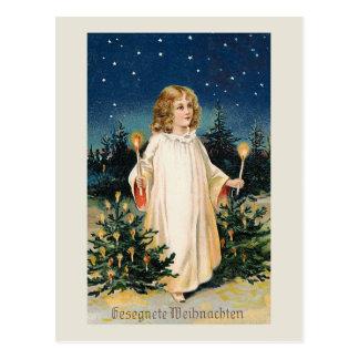 """""""Gesegnete Weihnachten"""" Vintage Christmas Card"""