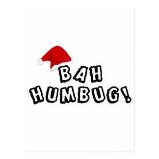 Get a gift for a BAH HUMBUG that you know! Postcard