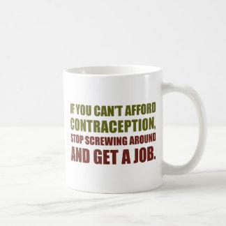 Get A Job Basic White Mug