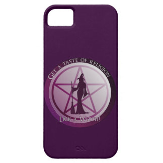 Get a taste of religion, lick a Witch iphone 5 iPhone 5 Cover