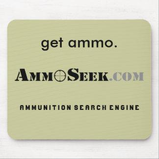 """Get Ammo"" AmmoSeek Mousepad"