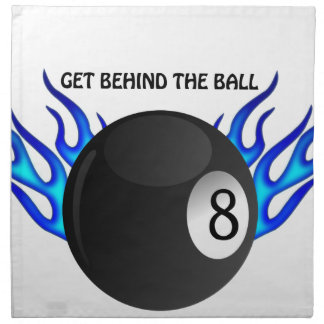 Get Behind the 8 BALL Napkin