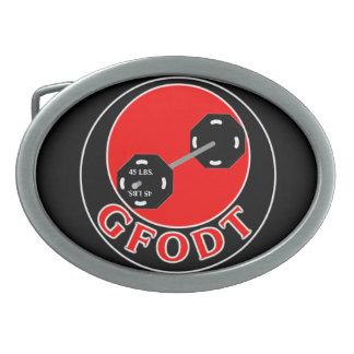 Get Fit Or Die Trying Belt Buckle (GFODT)