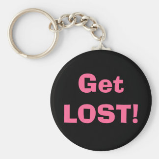 Get LOST Key Chains