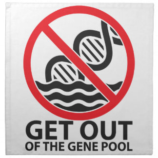 Get Out of the Gene Pool Napkin