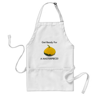 Get Ready For, A MASTERPIECE! Standard Apron
