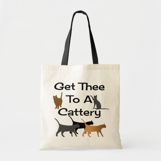 Get Thee To A Cattery Tote Bag