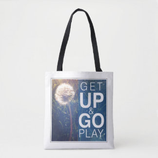 Get Up & Go Play Tote Bag