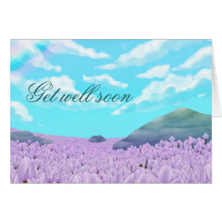 Get well soon Customizable Card