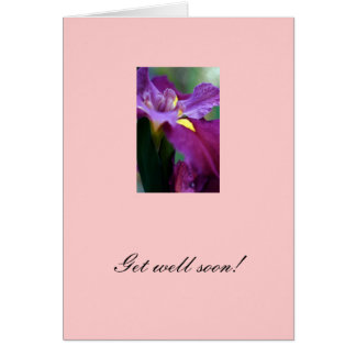 """""""Get well soon!"""" Greeting Card"""