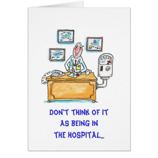 Get Well-Vacation Greeting Card