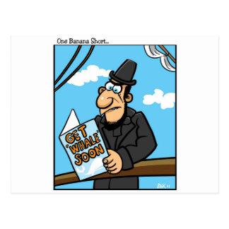 Get Whale Soon Postcard
