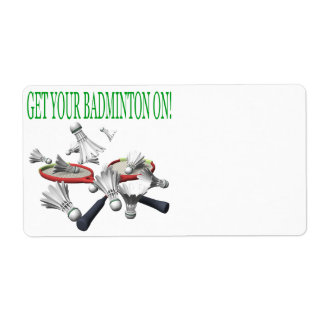 Get Your Badminton On