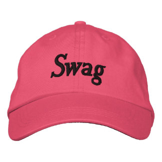 get your swag on embroidered hat