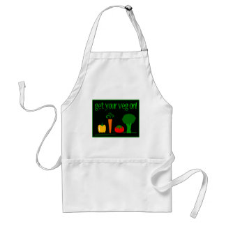 Get Your Veg On! With Assorted Veggies Adult Apron