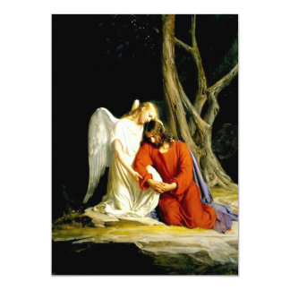 Gethsemane. Fine Art Customizable Cards Invitation