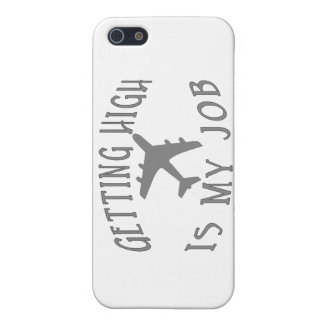 Getting High Airline Pilot iPhone 5 Case
