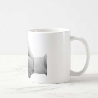 getting thing hands basic white mug