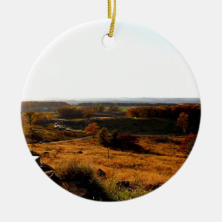 Gettsburg Sunset Christmas Ornament