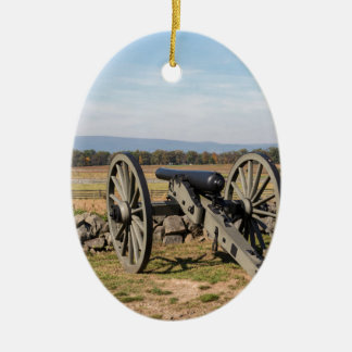 Gettysburg: A view of Pickett's Charge Christmas Ornament