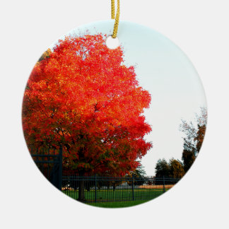 Gettysburg Cemetary Christmas Ornament