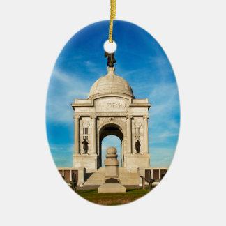 Gettysburg National Park - Pennsylvania Memorial Christmas Ornament