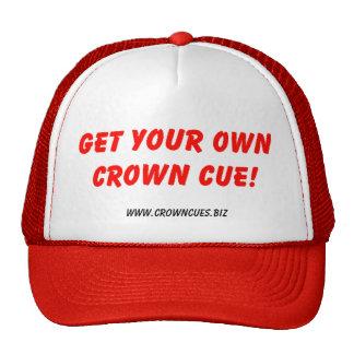 GetYourOwnCC, www.crowncues.biz Cap