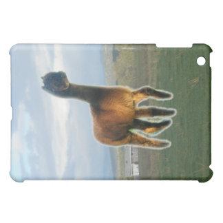 Ghost alpaca iPad mini cover