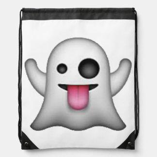 Ghost - Emoji Drawstring Bag