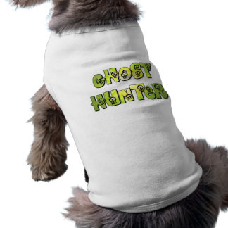 Ghost Hunter Green Pet Clothing